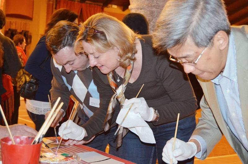 team-building-painting-picasso-exploramas
